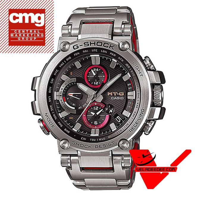 casio G-Shock  MT-G TRIPLE G RESIST นาฬิกาข้อมือผู้ชาย Bluetooth สายเรซิน รุ่น MTG-B1000D-1A
